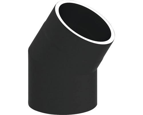 Jeremias Iso-Line Winkel 30° ohne Tür Ø150mm schwarz