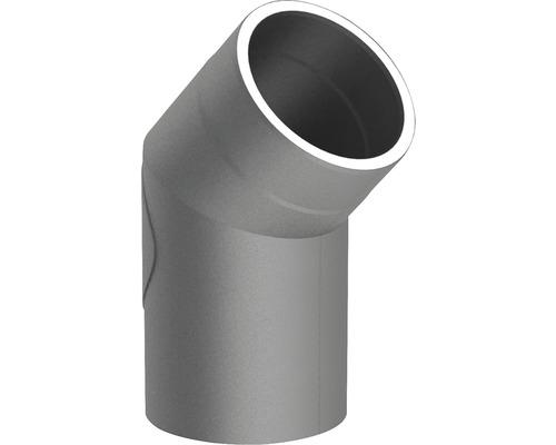 Jeremias Iso-Line Winkel 45° mit Tür Ø150mm grau