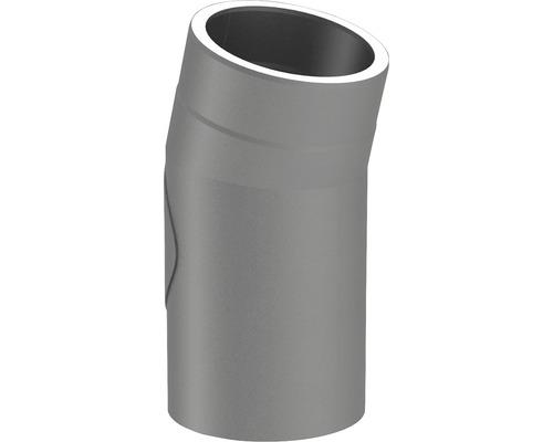 Jeremias Iso-Line Winkel 15° mit Tür Ø150mm grau
