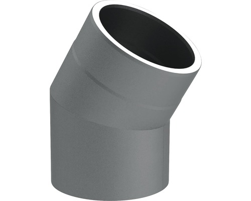 Jeremias Iso-Line Winkel 30° ohne Tür Ø150mm grau