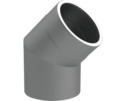 Jeremias Iso-Line Winkel 45° ohne Tür Ø150mm grau