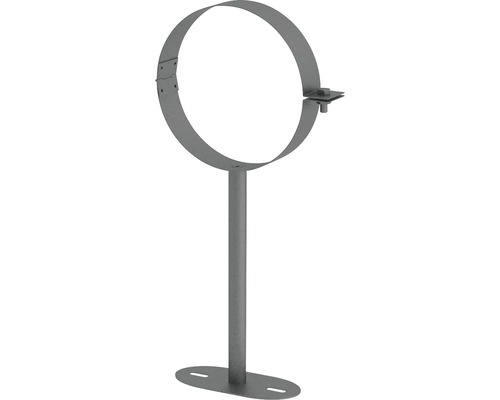 Jeremias Iso-Line Wandhalter bis 250mm Ø150mm grau
