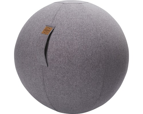 Sitting Ball Felt grau Ø 65 cm