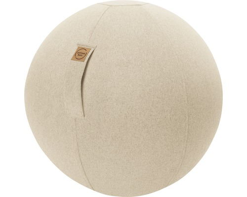 Sitting Ball Felt beige Ø 65 cm