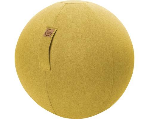 Sitting Ball Felt senf Ø 65 cm
