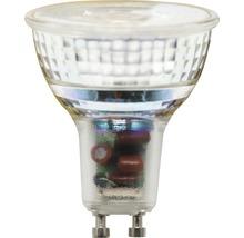 FLAIR LED Reflektorlampe PAR16 GU10/6,3W(70W) dimmbar klar 495 lm 3000 K warmweiß