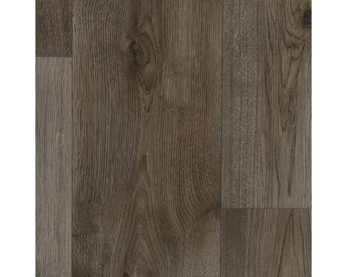 PVC Balder Holz Diele dunkel 400 cm breit (Meterware)
