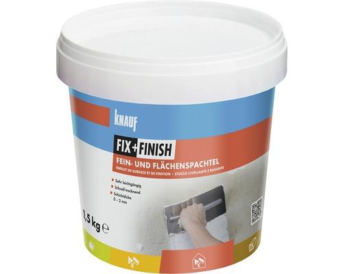 Knauf Fix + Finish Fein- und Flächenspachtel 1,5 kg