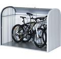 Mülltonnenbox biohort Store Max 160 163x78x120 cm silber-quarzgrau