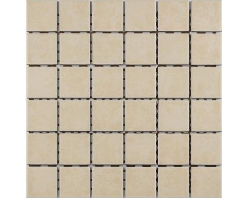 Keramikmosaik für die Dusche R10B beige glasiert 30x30 cm