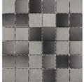 Keramikmosaik für die Dusche R10B grau/anthrazit glasiert 30x30 cm