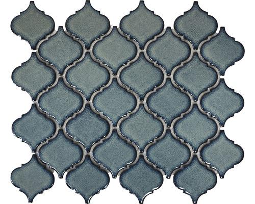 Karamikmosaik CLP3BG florentiner blau glänzend 29,3x24,5 cm