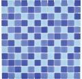 Glasmosaik CM4SE3M Crystal mix blau 30x30 cm