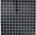 Glasmosaik CM4SE50 Crystal uni schwarz 30x30 cm