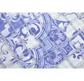 Glasmosaik XCM8OP33 Crystal Design blau/weiß 30x30 cm