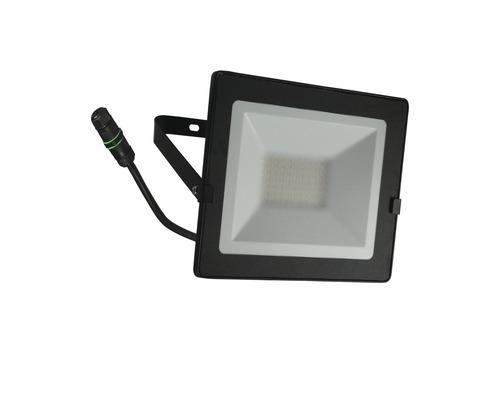 LED Strahler IP65 50W 4000 lm 4000 K neutralweiß H 180 mm schwarz