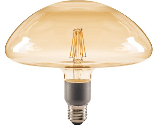 FLAIR LED Lampe E27/4,5W(40W) GX200 dimmbar amber 470 lm 2000 K warmweiß