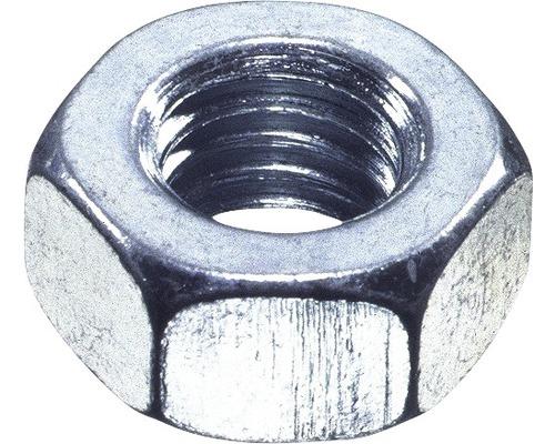 Sechskantmutter DIN 934 M6 mm Aluminium, 100 Stück