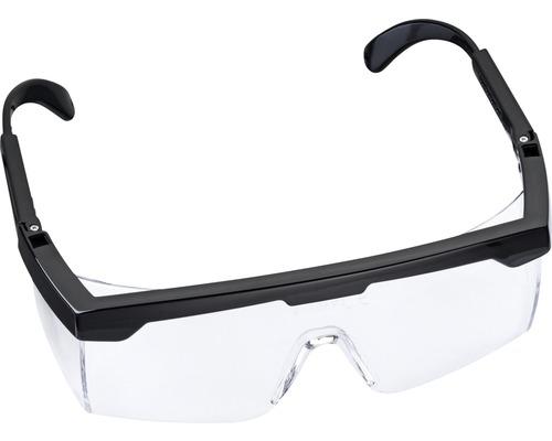 Komfort-Schutzbrille schwarz