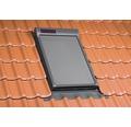 Netzmarkise FAKRO AMZ Solar schiefergrau solarbetrieben 78x140 cm (07)