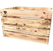 Buildify Kiste mittel, geflammt 44x28x33 mm