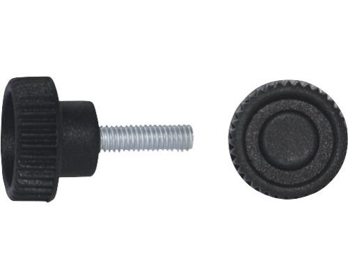 Rändelgriffschraube Ø 35 mm M10x55,5 schwarz, 20 Stück