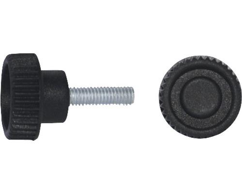 Rändelgriffschraube Ø 32 mm M10x20 schwarz, 20 Stück
