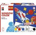 Marabu Kids Window Color Set Weltall 6-tlg