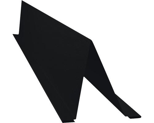 PRECIT Schneestopper Big Stone jet black RAL 9005 1000 x 70 x 88 mm