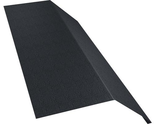 PRECIT Rinneneinhang ohne Wasserfalz Big Stone graphite grey RAL 7024 1000 x 83 x 65 mm