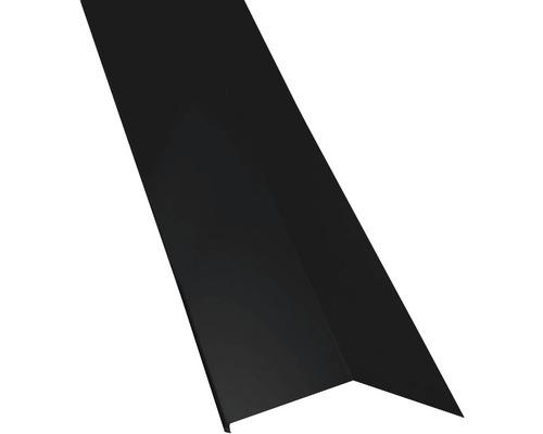 PRECIT Schürze für Mansarden außen Big Stone jet black RAL 9005 2 m