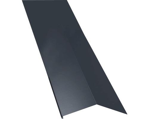 PRECIT Schürze für Mansarden außen Big Stone graphite grey RAL 7024 1000 x 135 x 90 mm