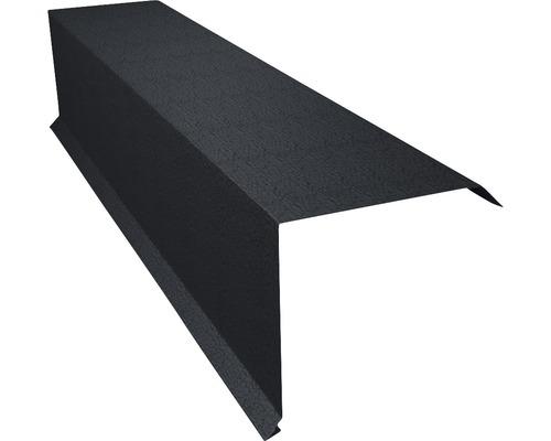 PRECIT Kantenwinkel für Metallziegel Big Stone graphite grey RAL 7024 2 m