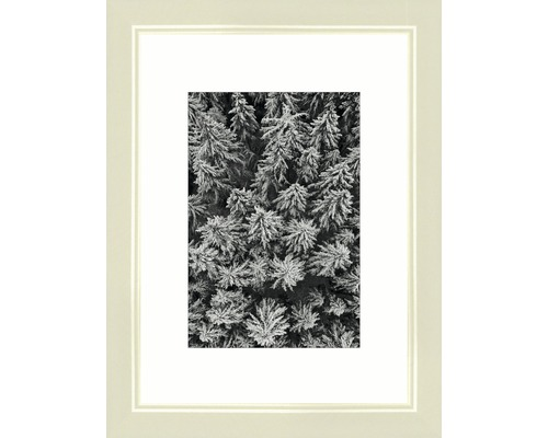Bilderrahmen Holz Modern creme 13x18 cm