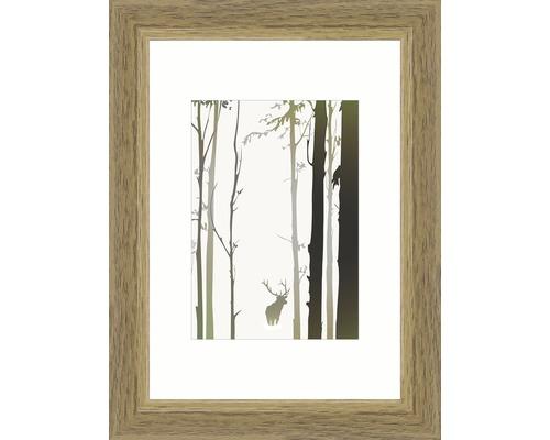 Bilderrahmen Holz Modern eiche 10,5x15 cm