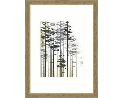 Bilderrahmen Holz Modern eiche 21x29,7 cm (DIN A4)