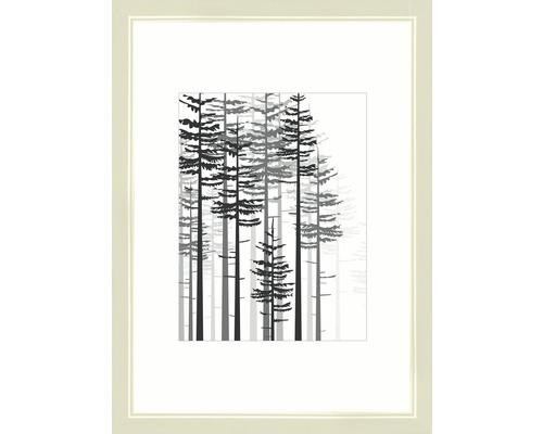 Bilderrahmen Holz Modern creme 21x29,7 cm (DIN A4)