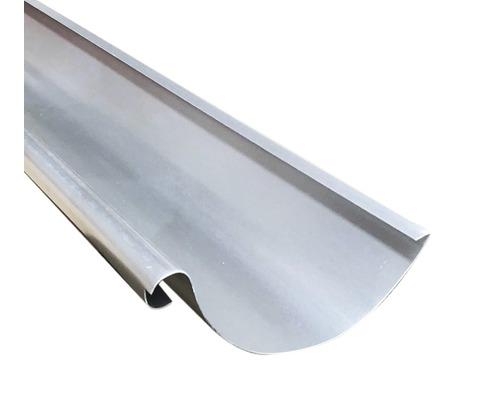 Precit Dachrinne alu natur NW 125mm Länge: 2,00m Größe 280