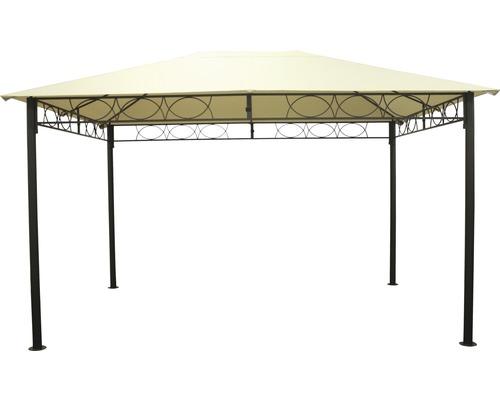 Steck-Pavillon 3x4x2.7 m Polyester beige