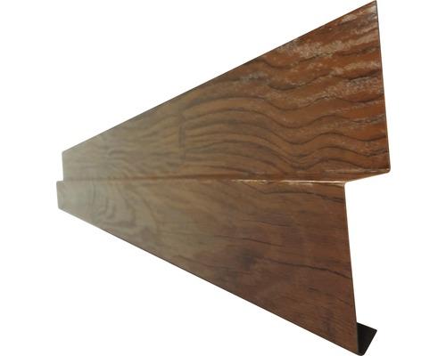 PRECIT Sockelprofil für Wandpaneel golden oak 2 m