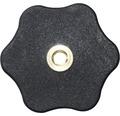 Sterngriffmutter flach Ø 50 mm M10, 20 Stück