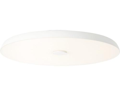 AEG LED Deckenleuchte IP20 1x72W 6800 L 3000-6000 K warmweiß-tageslichtweiß HxØ 78x600 mm Adora weiß mit Lautsprecher RGB Backlight Nachtlichtfunktion Fernbedienung