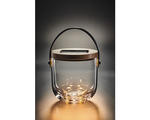 Solarlaterne Krinner Lumix S Glas