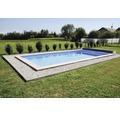 Styropor-Pool-Set Standard P25 700 x 350 cm, Tief 150 cm