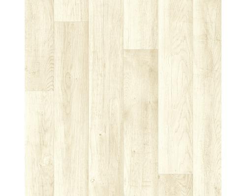PVC Larissa Stabparkett weiss 400 cm breit (Meterware)