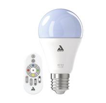 LED Lampe A60 RGBW CCT dimmbar E27/9W 806 lm 2750 K warmweiß mit Fernbedienung Crosslink