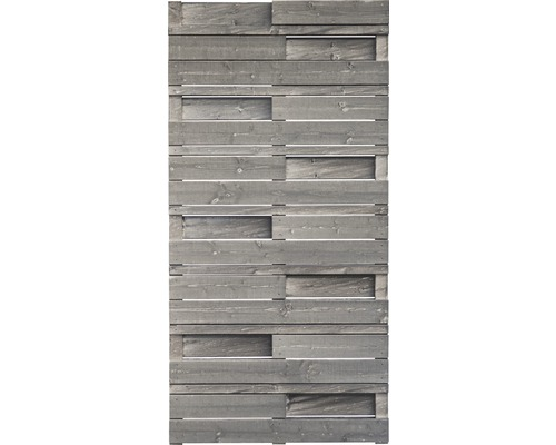 Teilelement Konsta Vintage Design 90x180 cm grau