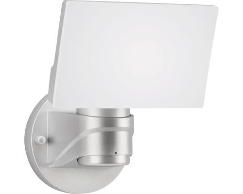 LED Außenstrahler IP44 16W 1600 lm 4000 K neutralweiß 175x180 mm silber