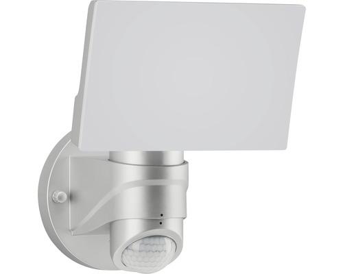 LED Sensor Außenstrahler IP44 16W 1600 lm 4000 K neutralweiß 175x180 mm silber