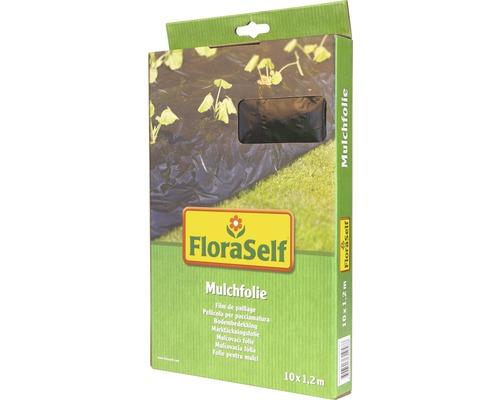 Mulchfolie FloraSelf 10x1,2 m schwarz